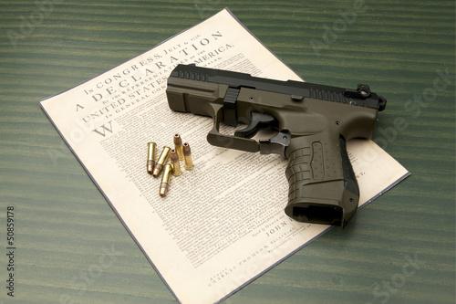 Pistol and Daclaration.