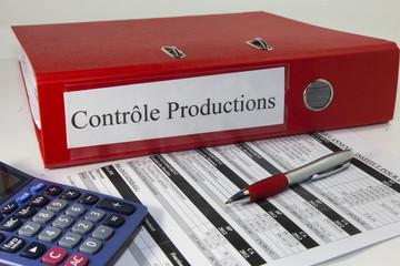 classeur, contrôle production