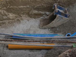 excavator shovel