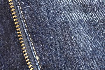 Jeans Zipper - Closeup