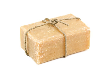 brown soap