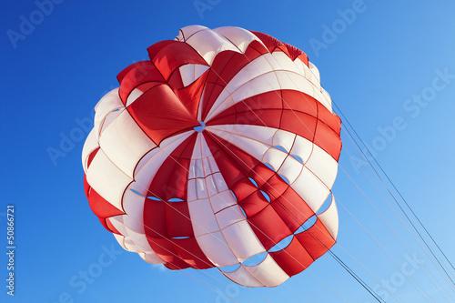 Leinwandbild Motiv Fallschirm 04