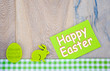 canvas print picture - Happy Easter