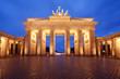 canvas print picture - Berlin, Brandenburg Gate