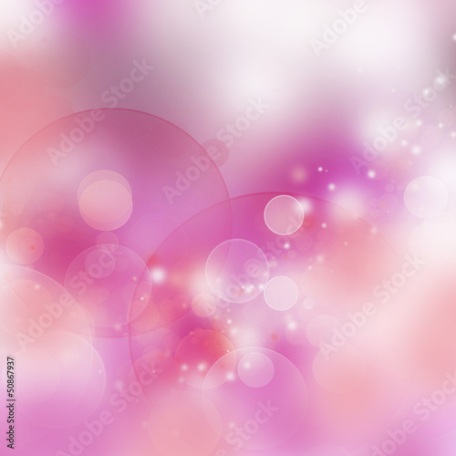 pink - white  bokeh background
