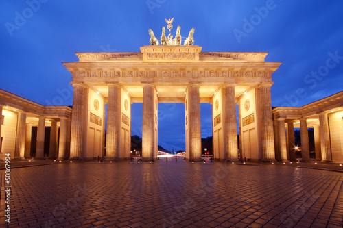 canvas print picture Berlin, Brandenburg Gate
