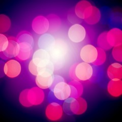 Beautiful pink bokeh background