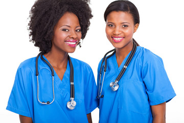 afro american interns nurses