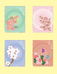 Spring minijatures