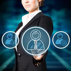virtuelle Personenauswahl