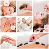 Fototapety Collection of spa images