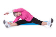 Portrait Of Senior Woman Exercising