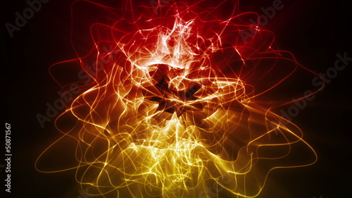 Dynamic Energy Swirl Background