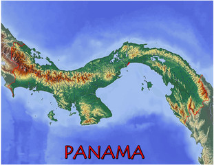 Panama Central America national emblem map symbol motto