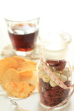 potato chip and chinese herbal for diet medical image