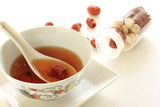 Chinese herbal medical soup image