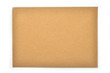 brown envelope isolated
