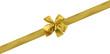 ruban doré décoration emballage cadeau