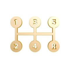 golden shift symbol
