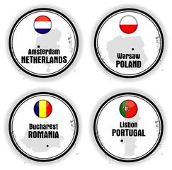 cartes européennes