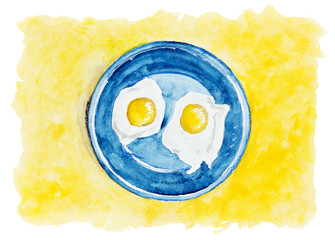 Desert fried eggs