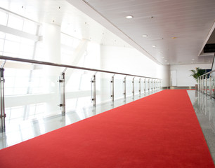 Red carpet way