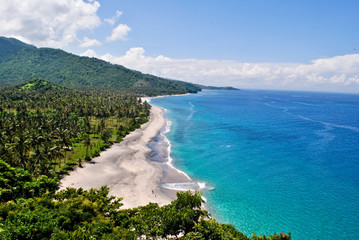 Senggigi beach in Lombok island