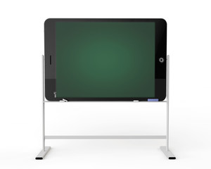 Tablet PC as blackboard stand