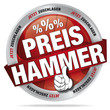Preishammer - jetzt zuschlagen - rot