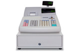 Cash Register isolated with clipping path