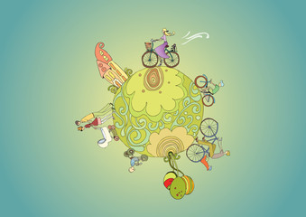 Free Green Planet