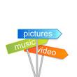 vector multimedia indicator