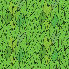 Beautiful seamless texture. foliage