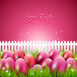 Sweet pink Easter background