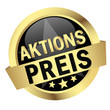 "Button mit Banner "" AKTIONSPREIS """