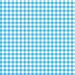 Karo Tischdecken Muster HELLBLAU - endlos