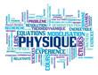 """Nuage de Tags """"PHYSIQUE"""" (sciences chimie enseignement études)"""