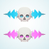 Music breaks the skull