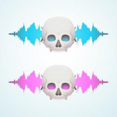Music breaks the skull