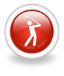 "Light Red Icon ""Golfing"""