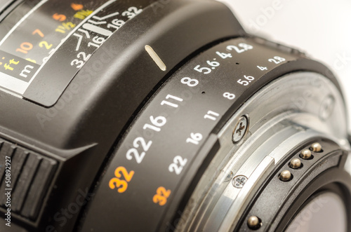 Aperture Selection On Modern Camera Lens