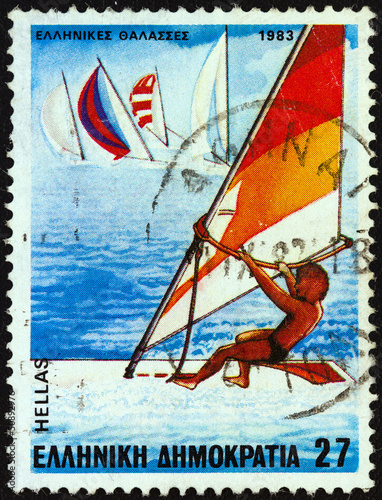Windsurfing (Greece 1983)