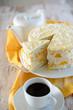 Kokos-Pfirsisch-Creme-Torte
