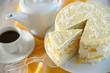 Pfirsisch-Kokos-Torte