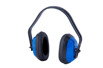 Ear protection defenders.Isolated.