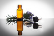 Essential oil with rosemary