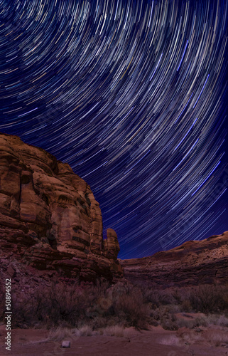 Starry Night on Long Canyon Road