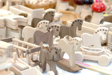 wooden toys for rural market