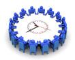 Затраты времени для принятия решения. Концепция