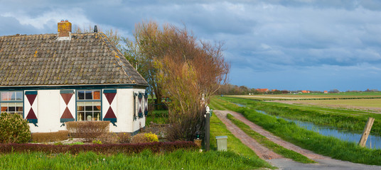 Traditional dutch village